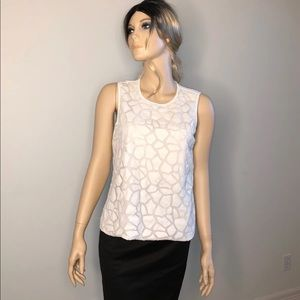 Vince Camuto White Blouse S GUC
